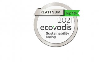 Neptune Lines has been awarded a Platinum EcoVadis Medal
